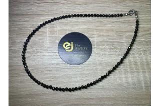 Obsidiano vėrinys, 4mm 44cm